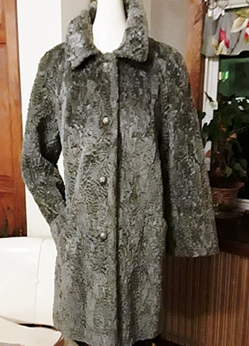 grey faux fur vintage coat,anothertimevintageapparel.jpg